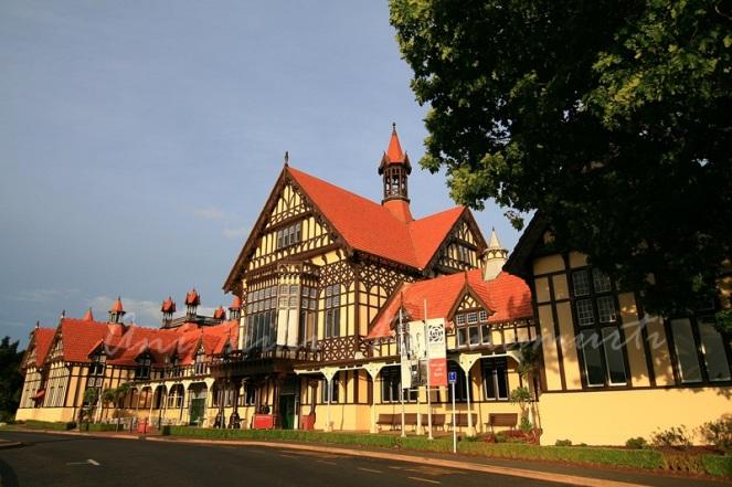 Rotorua museum of art&history