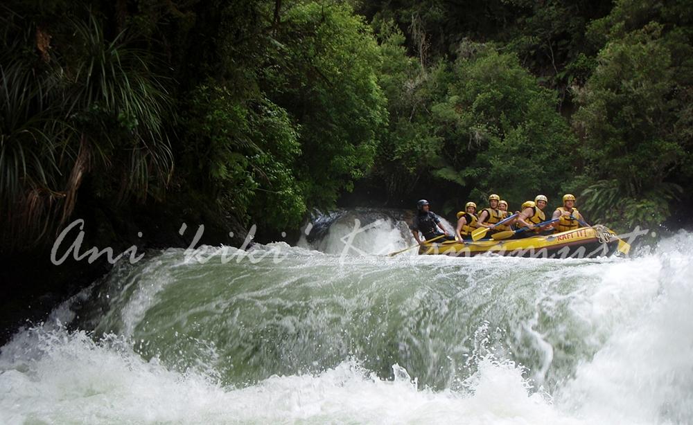 kaitura river rafting
