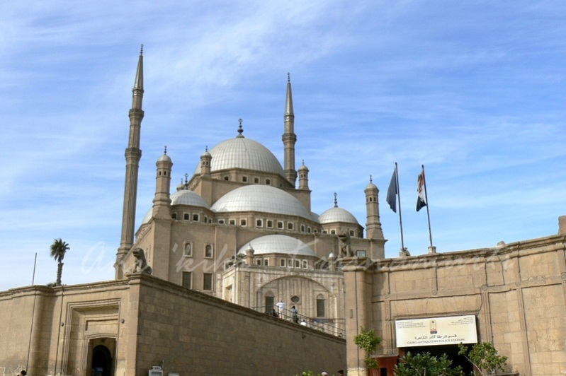 The Saladin Citadel of Cairo & mosque of mohammed ali
