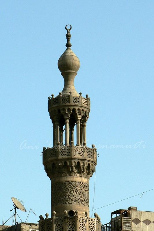 minaret of bab-zuweila.