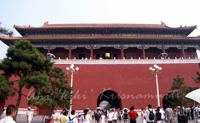 forbidden city: gate-of-heavenly-peace