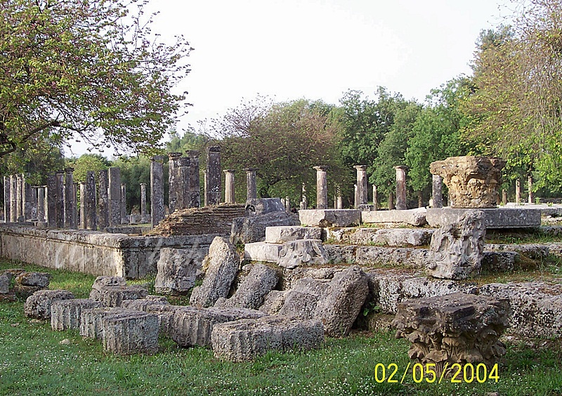 site of the Olympic Games in classical times