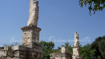 Ancient agora - The entrance to the Odeon of Agrippa