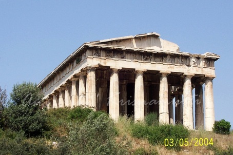Temple of Hephaestus, ancient agora
