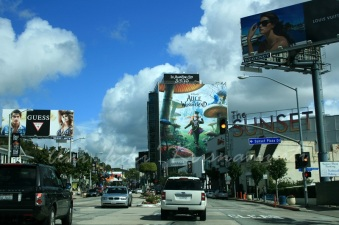 LA61. sunset blvd