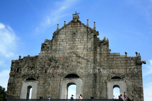 ruins of st paul's- backside