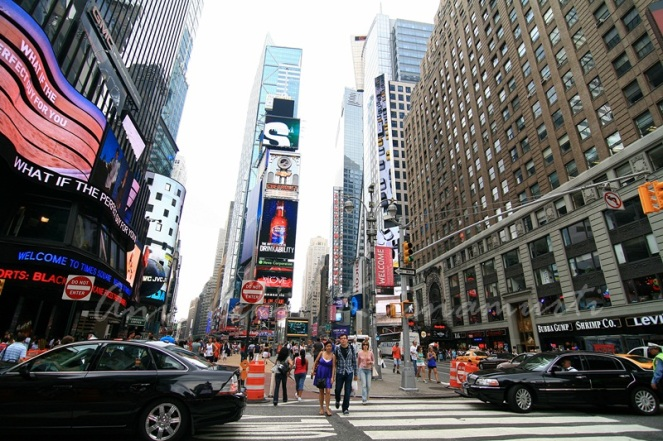 one times square- - one of the most valuable advertising locations in the world
