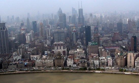 shanghai-taken from oriental pearl tower