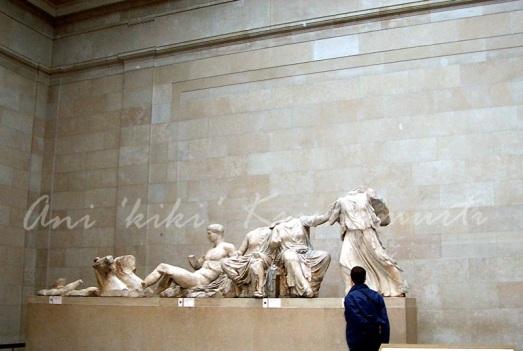 british museum-parhenon sculptures