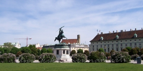 The Statue of Archduke Charles