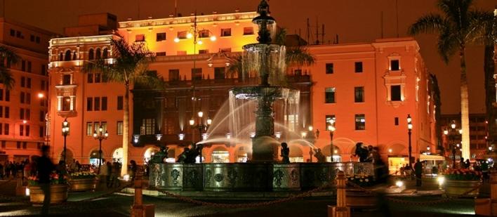fountain of Viceroy García Sarmiento de Sotomayor Count of Salvatierra