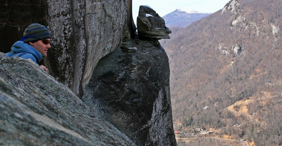 devil's head, chimney rock park,nc