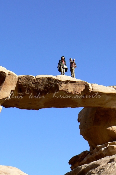 Jabal Umm Fruth Rock Bridge
