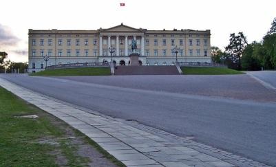det kongelige slot-residence of d king