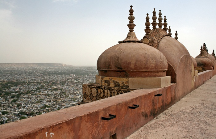 jaipur seen from nahargarh fort