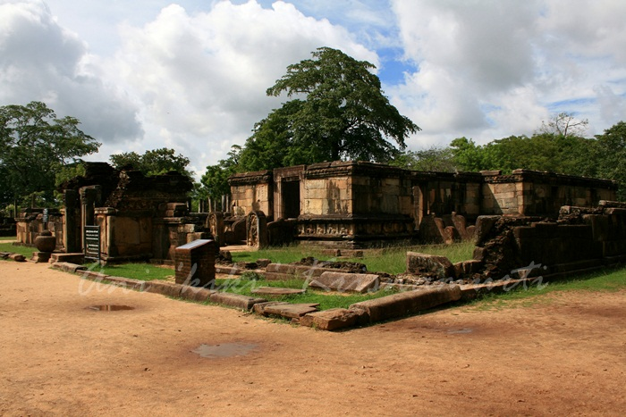 hatadage -temple of the-tooth of Buddha