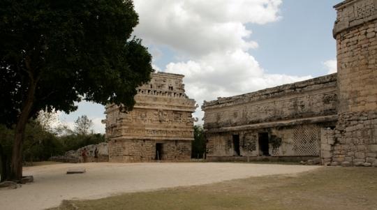 """""""La Iglesia"""" in the Las Monjas complex"""