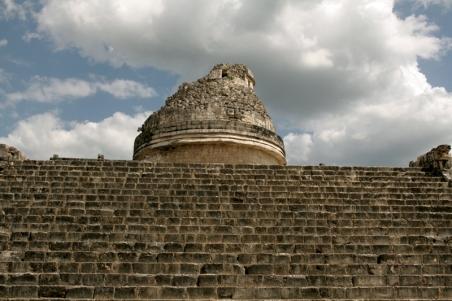 """El Caracol"""" observatory temple"""