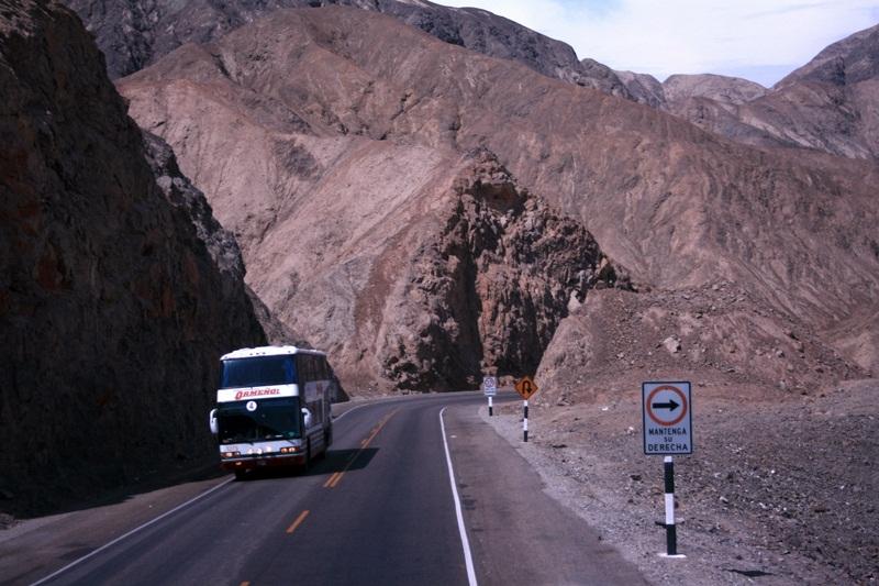 bus trip paracas-nazca