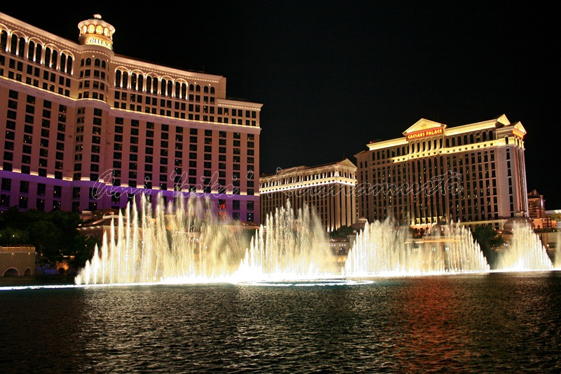 5.Bellagio Fountain