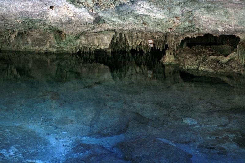 The Dos Ojos Cenotes