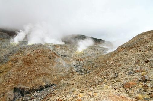 papandayan crater