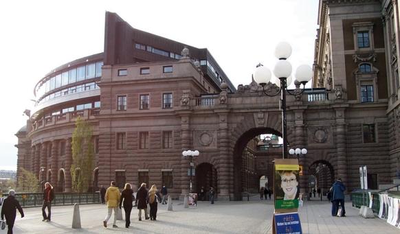 """Riksgatan (""""National Street"""")"""