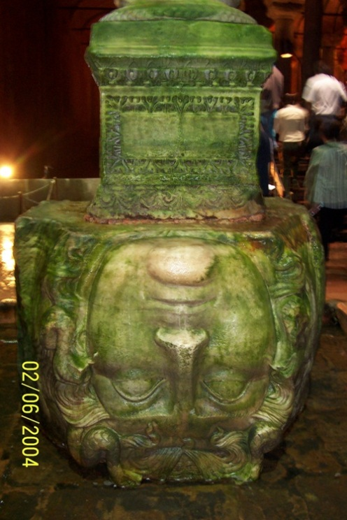 medusa head pillar