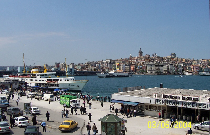 bosphorus strait,asia and europe