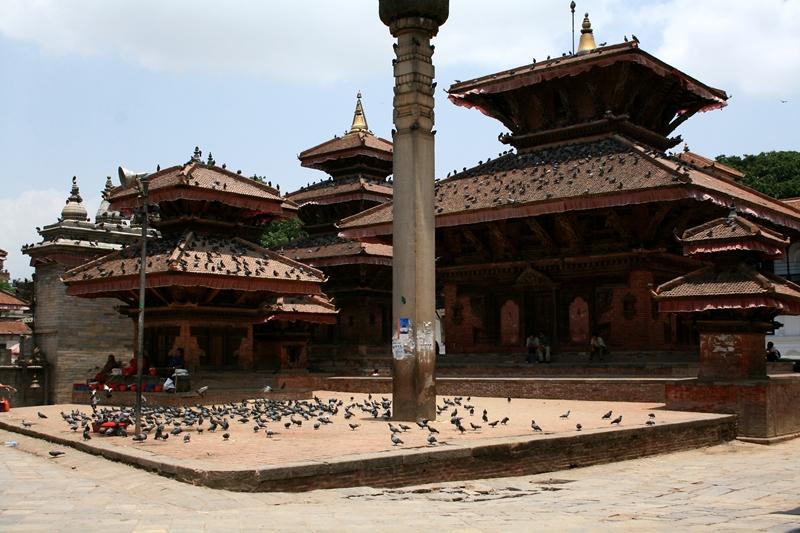 .Hanuman Dhoka-Jagannath temple&king pratap malla's column