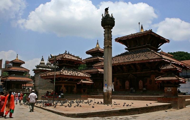 30.Hanuman Dhoka-Jagannath temple&king pratap malla's column