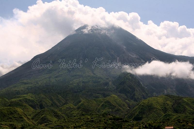 mt merapi-active volcanoe