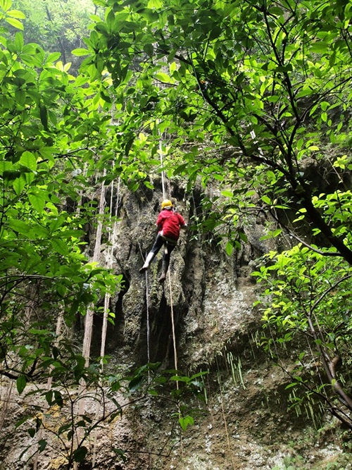 jomblang cave- 300 m vertical cave