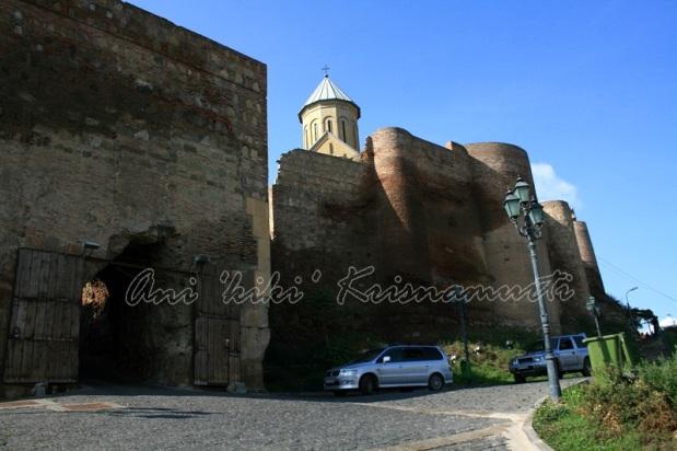 narikala fortress&church of st nicholas