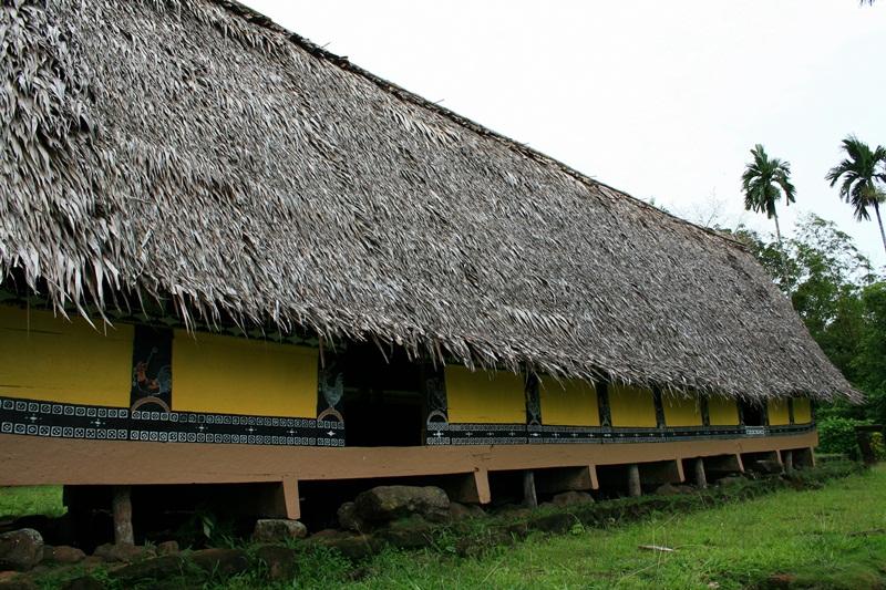 The bai at Airai Village, or Bai-ra-Irrai