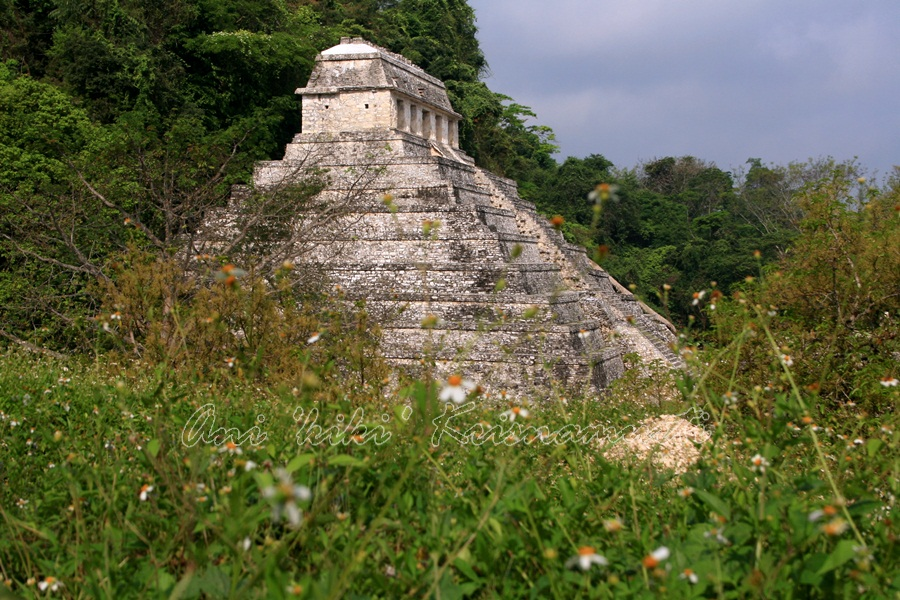 the temple of the Inscriptions