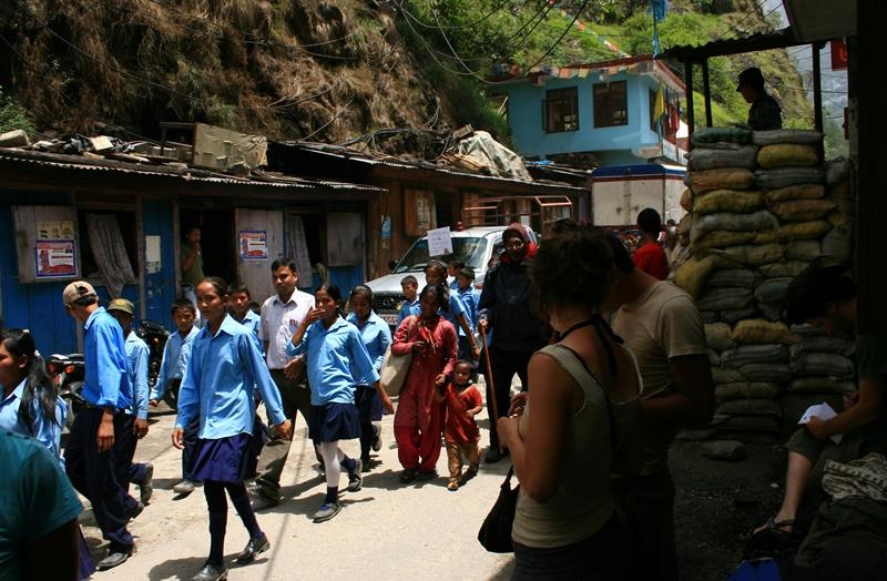 kodari-nepal border