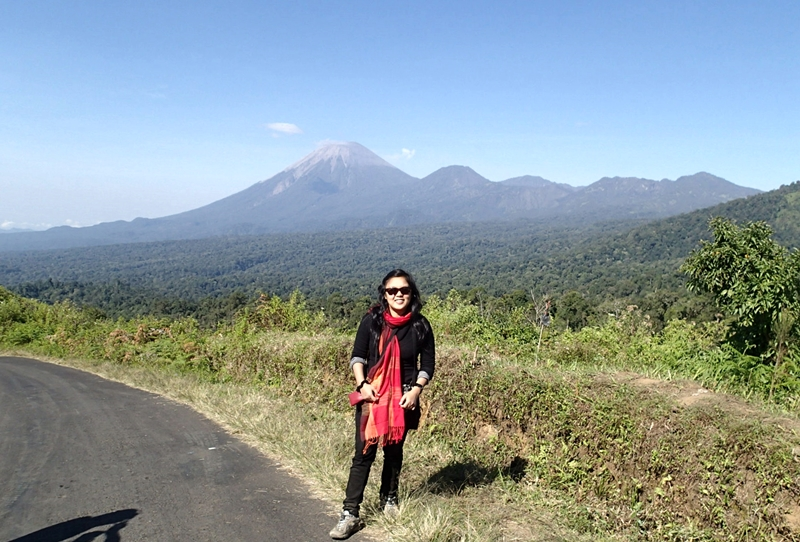 semeru mt- the highest mt in java