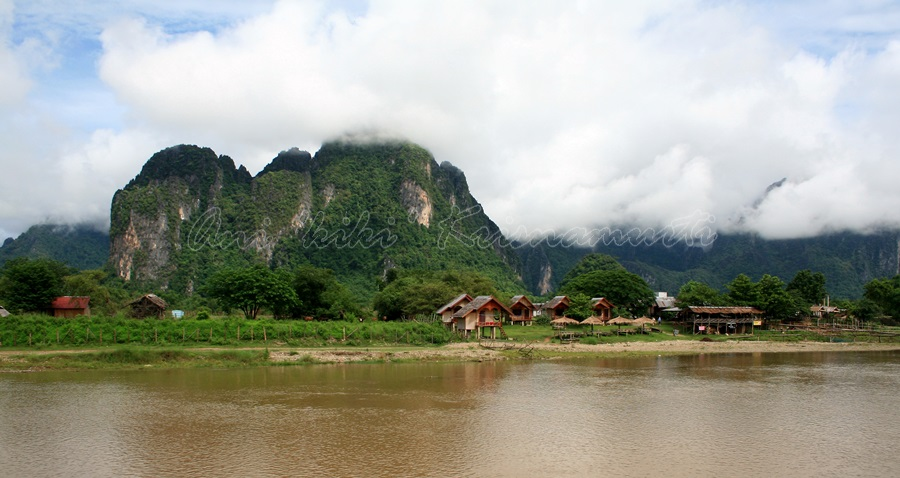 nam song river,laos