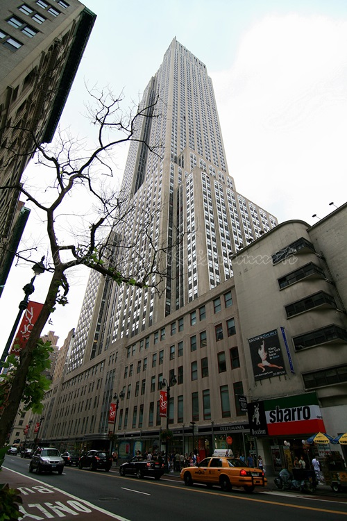 the empire state building, NY, US