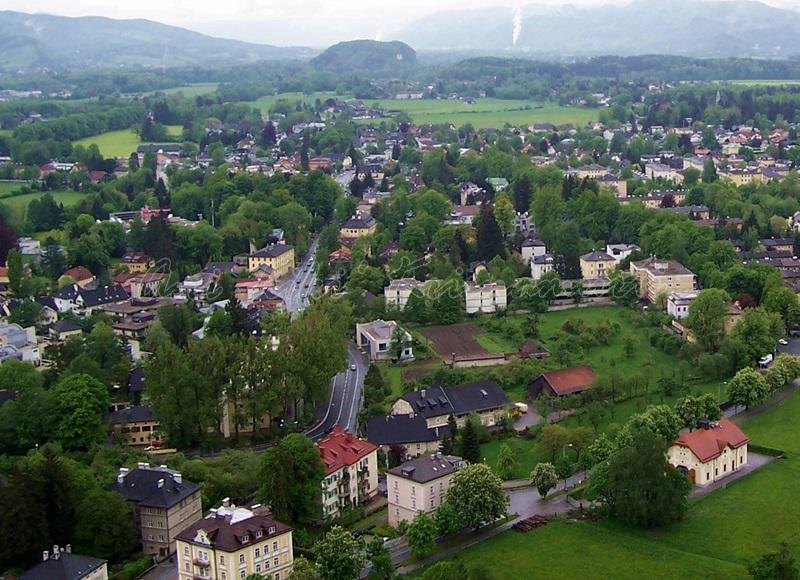 salzburg taken from Hohensalzburg Castle