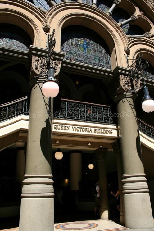 queen victoria building, sydney, australia