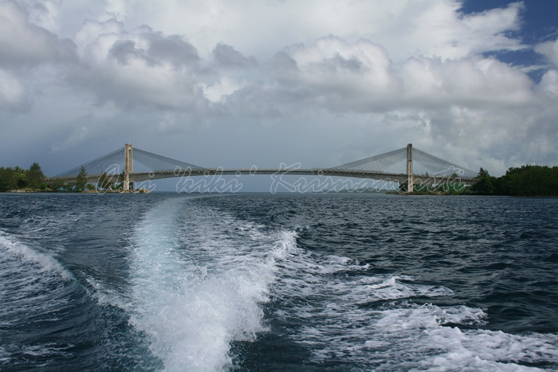 japan-palau friendship bridge, koror, palau
