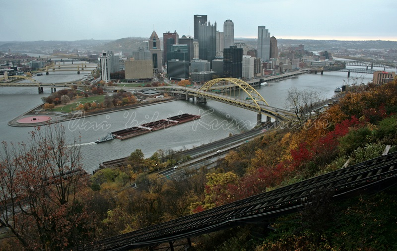 Downtown Pittsburgh taken from Mt. Washington