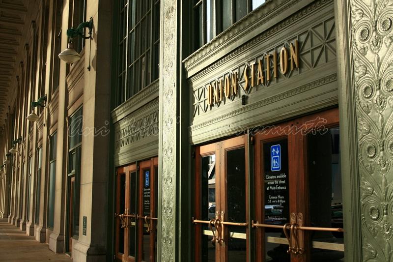 chicago union station, US