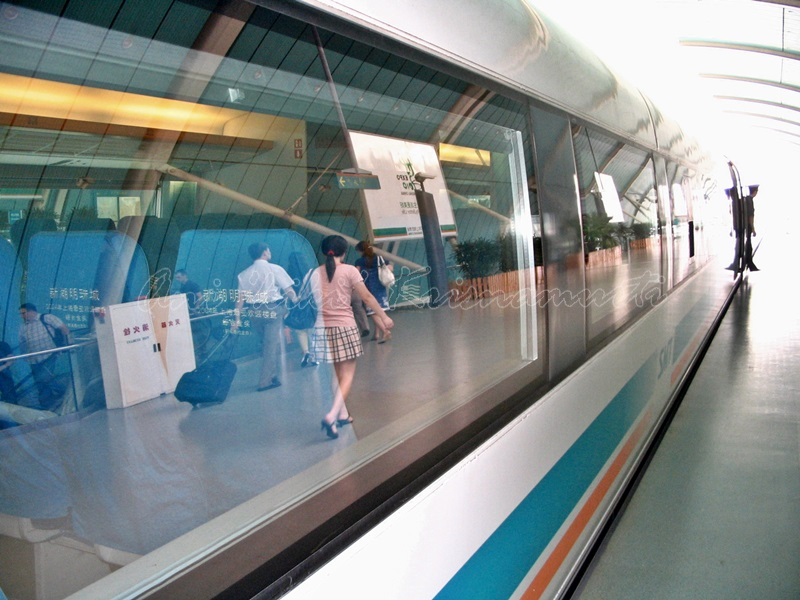 shanghai maglev train, china