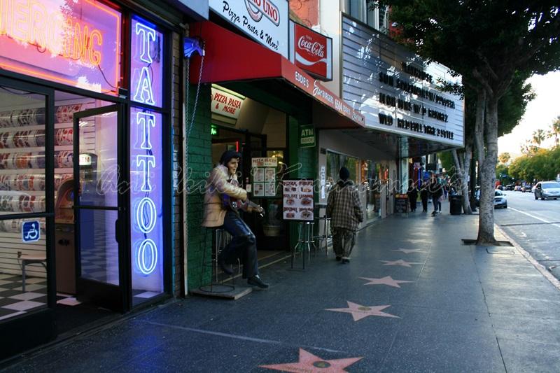 holywood boulevard, Los Angeles, CA, USA