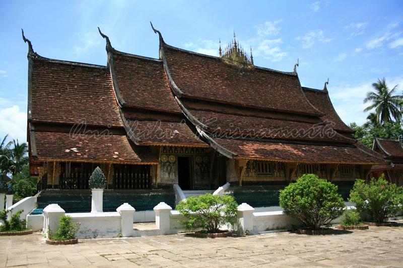 Wat xieng thong, luang prabang, laos