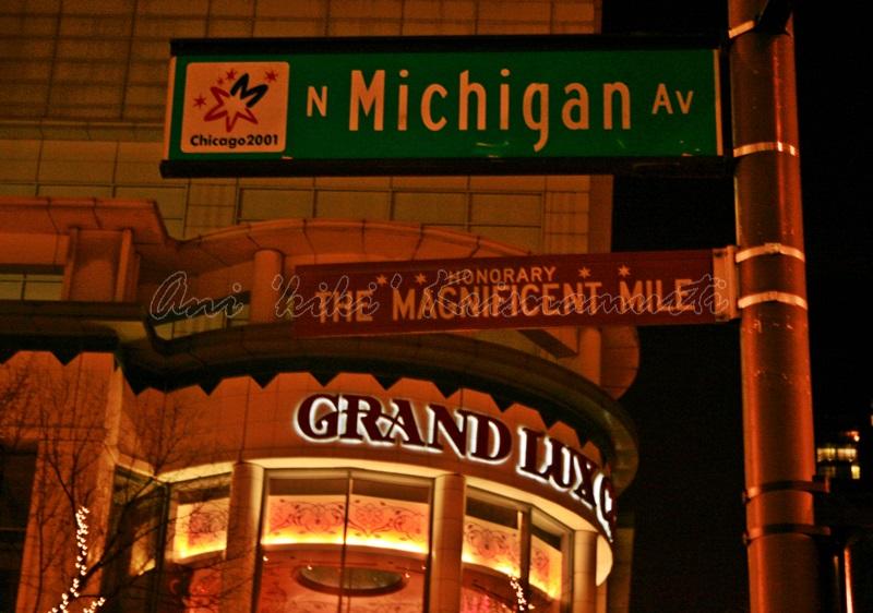 michigan avenue, chicago,IL,USA