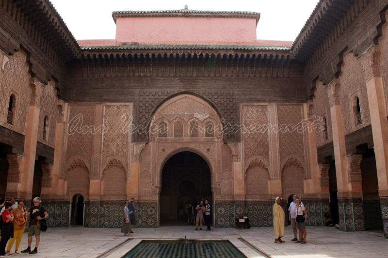 Médersa Ben-Youssef / Ben Youssef Madrasa, marrakech, morroco